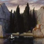 阿诺德·勃克林《死岛》1883版